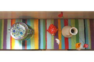 מדף צבעוני DIY