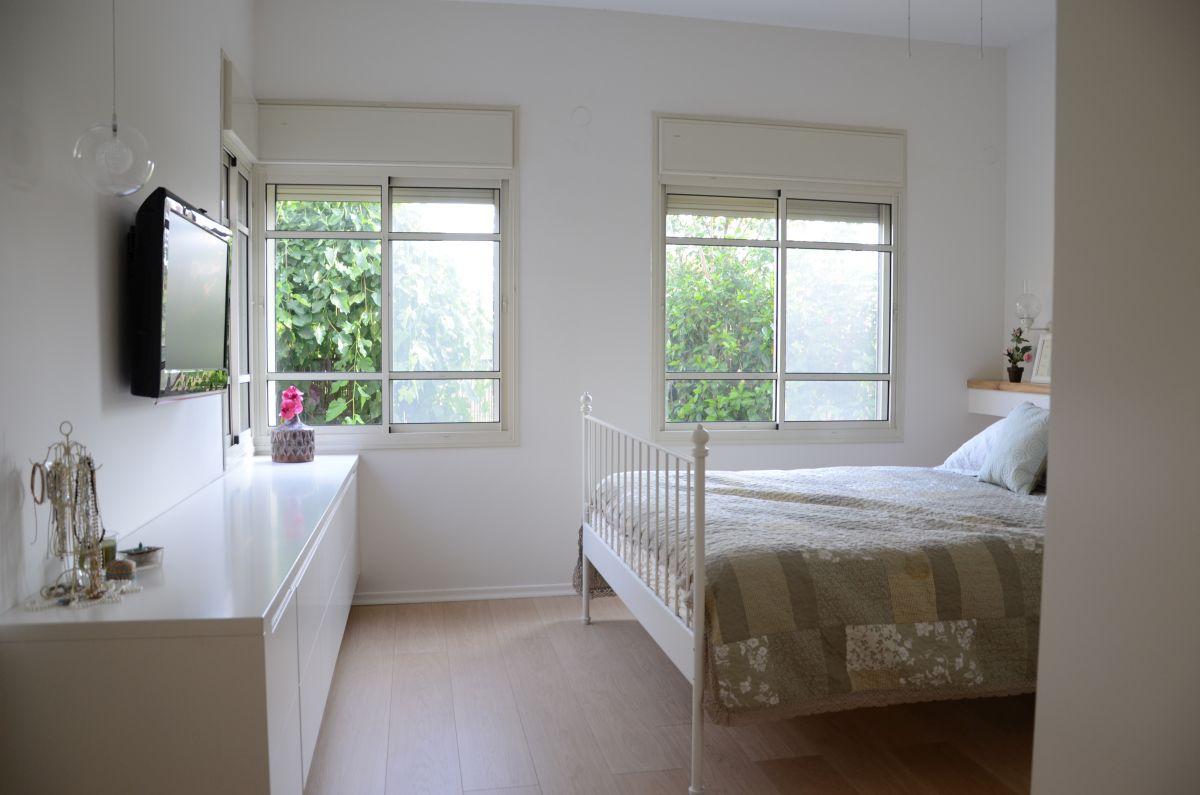 חדר שינה מעוצב בקיבוץ