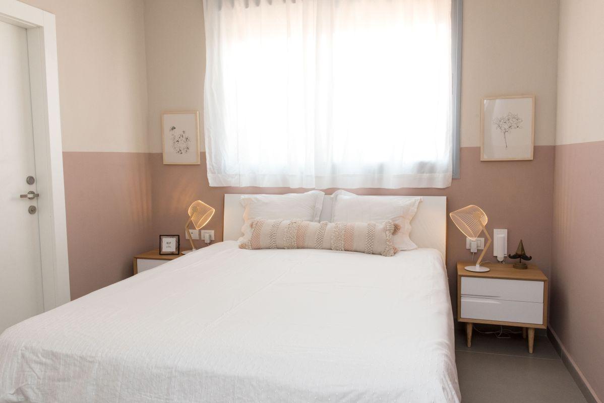 עיצוב חדר שינה - דירה בהפתעה