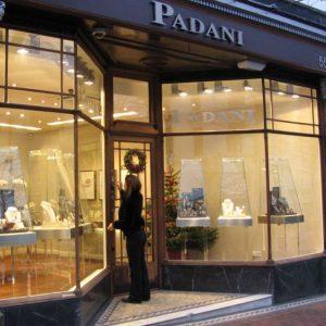 עיצוב חנות תכשיטים פדני אנגליה