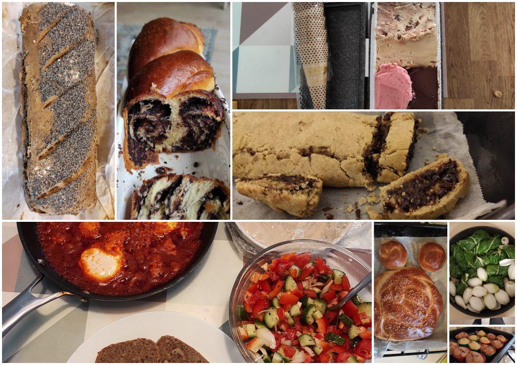 שנה של אוכל ביתי