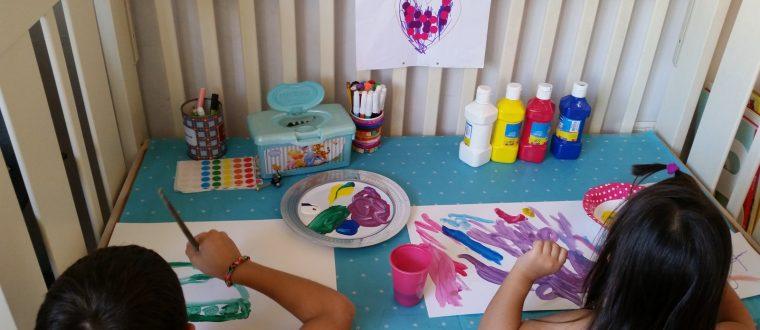 DIY – שולחן יצירה לילד/ה